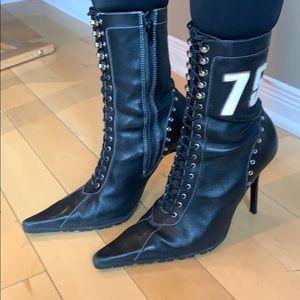 Steve Madden Vintage Seventy5 Leather Boots
